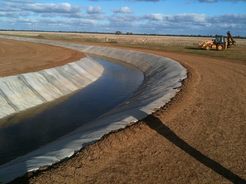 Earthen Irrigation Channels