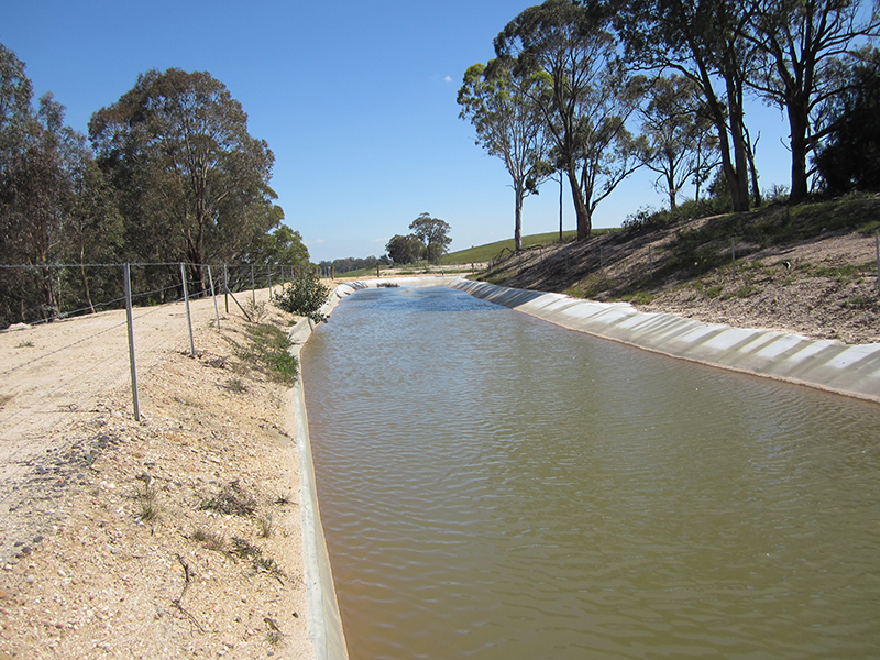 Concrete Channel And Storage